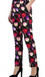 Dámske štýlové nohavice Q4760 #1