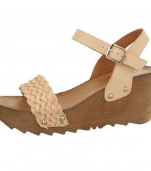 Dámske štýlové sandále Q3931