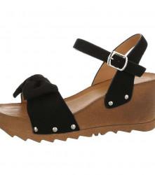 Dámske štýlové sandále Q3932