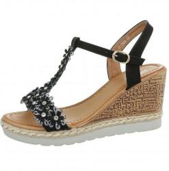 Dámske štýlové sandále Q4165