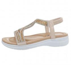 Dámske štýlové sandále Q4664