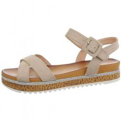 Dámske štýlové sandále Q5172