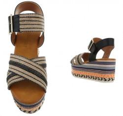 Dámske štýlové sandále Q5870 #2
