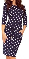 Dámske štýlové šaty N0902