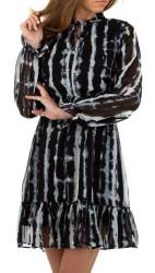 Dámske štýlové šaty Q6941