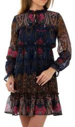 Dámske štýlové šaty Q6943