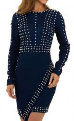 Dámske štýlové šaty Q7015
