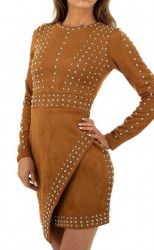 Dámske štýlové šaty Q7019