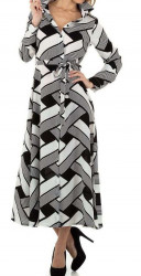 Dámske štýlové šaty Q7022