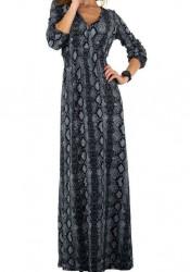 Dámske štýlové šaty Voyelles Q6117