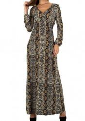 Dámske štýlové šaty Voyelles Q6118