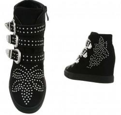 Dámske štýlové topánky Q4695 #2