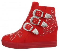 Dámske štýlové topánky Q4696