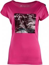 Dámske štýlové tričko Alpine Pro K0892