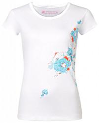 Dámske štýlové tričko Alpine Pro K1701