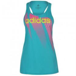 Dámske štýlové tričko bez rukávov Adidas H9685