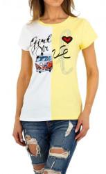 Dámske štýlové tričko Q5157