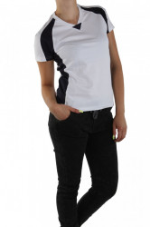 Dámske štýlové tričko s krátkym rukávom X9296
