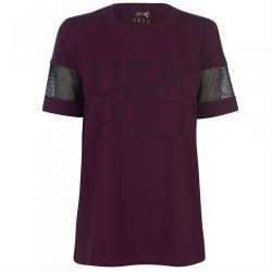 Dámske štýlové tričko USA Pro H7211