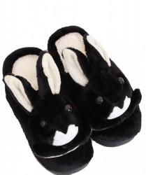 Dámske teplé papučky s zajačikom N1568