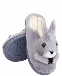 Dámske teplé papučky s zajačikom N1570