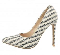 Dámske topánky s vysokým podpätkom Q3744