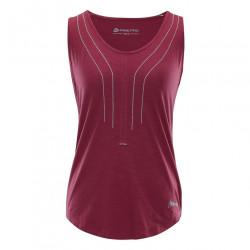 Dámske tričko bez rukávov Alpine Pro K1372