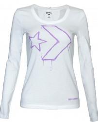 Dámske tričko s dlhým rukávom Converse A0349