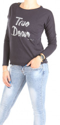 Dámske tričko s dlhým rukávom Mustang W0976