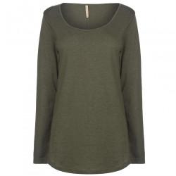 Dámske tričko s dlhým rukávom Rock and Rags H6061