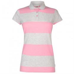 Dámske tričko s golierom Lee Cooper H8696