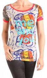Dámske tričko s krátkym rukávom DESIGUAL W1025