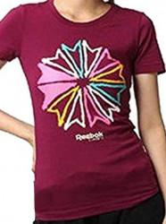 Dámske tričko s krátkym rukávom Reebok A0343