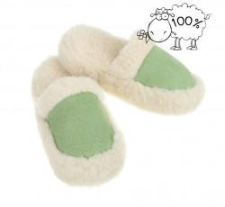 Dámske vlnené papuče Q0615