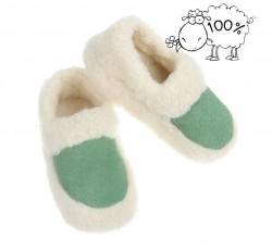 Dámske vlnené papuče Q0719
