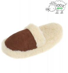 Dámske vlnené papuče Q5037