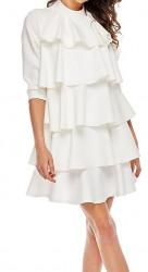 Dámske volánovej šaty N1209