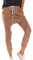 Dámske voĺnočasové nohavice N1168