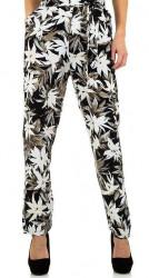 Dámske voĺnočasové nohavice Q4726
