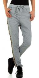 Dámske voĺnočasové nohavice Q5134