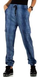 Dámske voĺnočasové nohavice Q6436