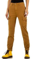 Dámske voĺnočasové nohavice Q7142