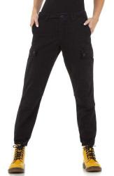 Dámske voĺnočasové nohavice Q7149