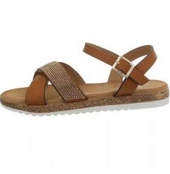 Dámske voĺnočasové sandále Q5020