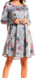 Dámske voĺnočasové šaty N0859