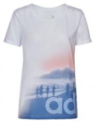 Dámske voľnočasové tričko Adidas A1115