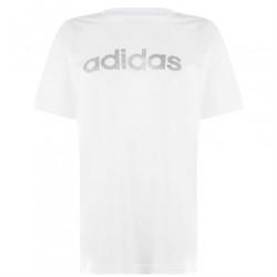 Dámske voĺnočasové tričko Adidas J6561