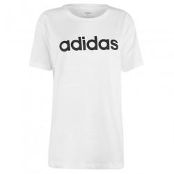 Dámske voĺnočasové tričko Adidas J6566