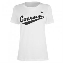 Dámske voĺnočasové tričko Converse J6550