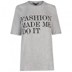 Dámske voĺnočasové tričko Golddigga H5020